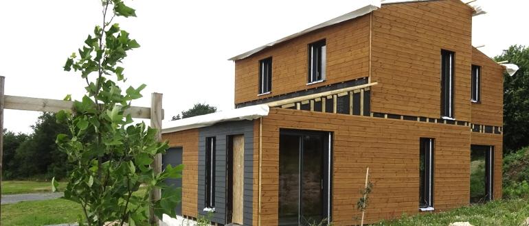 maison bois vendee