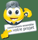 Emoticône construisons ensemble votre projet